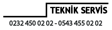İzmir Toshiba Servisi – 02324500202 – 05434550202